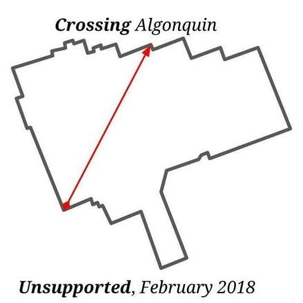 Crossing Algonquin 2018